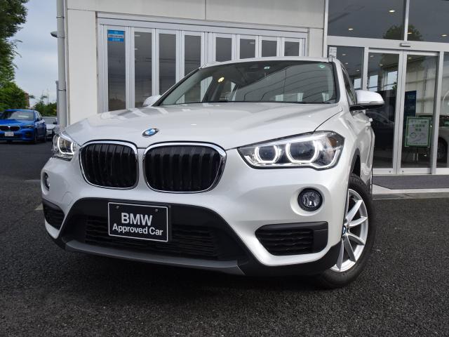 BMW X1 sDrive 18i 7速DCT LEDヘッドライト タッチパネル式HDDナビ ドライビングアシスト 2.0ETCミラー SOSコール DVD再生機能 ミュージックサーバー Bluetoothハンズフリーフォン