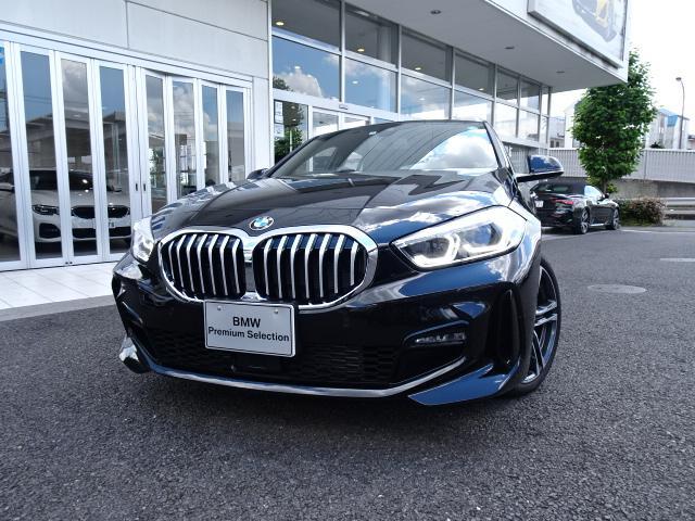 BMW 1シリーズ 118d Mスポーツ エディションジョイ+ 高年式 新車保証付 デモカー ナビパッケージ コンフォートパッケージ タッチパネル式HDDナビ ACC ライブコックピット 2.0ETCミラー 電動リアゲート 18インチアルミ バックカメラ