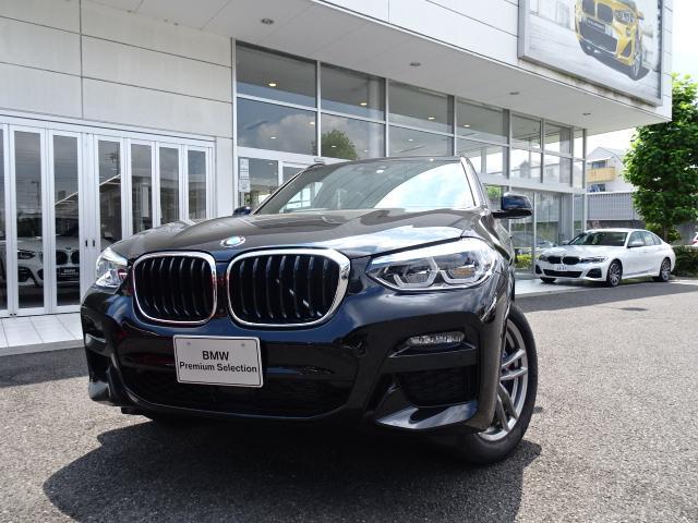 BMW X3 M40i 高年式 新車保証付 デモカー セレクトパッケージ モカレザー パノラマサンルーフ アダプティブMサスペンション ハーマンカードンサラウンドスピーカー アンビエントライト アクティブベンチレーション