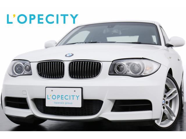 BMW 135i 6MT MスポーツPKG 黒革 純正HDDナビ