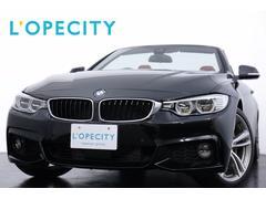 BMW435iカブリオレ Mスポ 赤革 LEDヘッドライト ETC