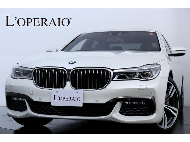 BMW 740i Mスポーツ 1オナ サンルーフ OP20インチAW