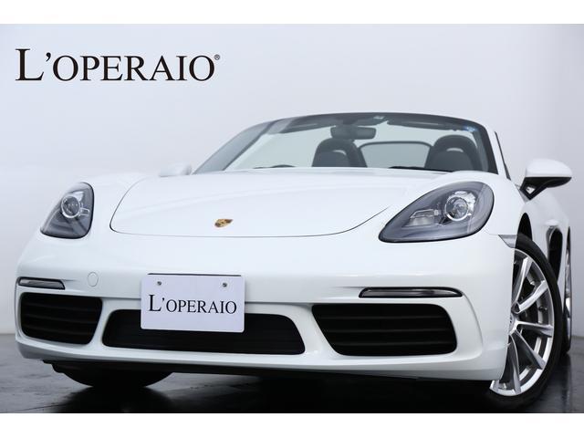 718ボクスターOP約160万 1オナ スポクロ GTステア