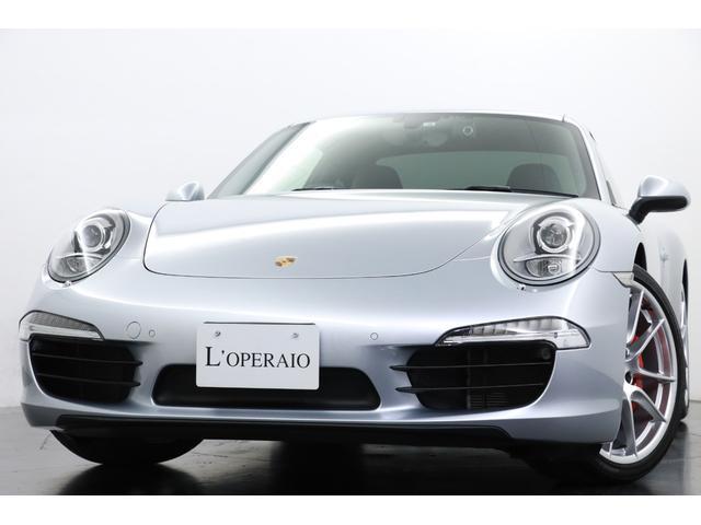 ポルシェ 911 911カレラS 有償色 ブルーオールレザー スポーツエグゾースト スポーツステアリング シートヒーター 純正20インチAW キセノン カロッツェリアSDナビ 地デジ バックカメラ 前後パークセンサー ペイントキー