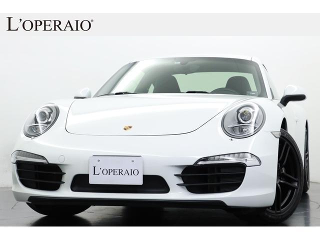 ポルシェ 911 911カレラ スポクロ スポステ 電動ミラー オートエアコン スモーカーPKG 黒革スポーツシート アルカンターラルーフ 純正SDナビ 地デジ Bカメラ ETC キセノン 純正19インチAW(黒塗装)