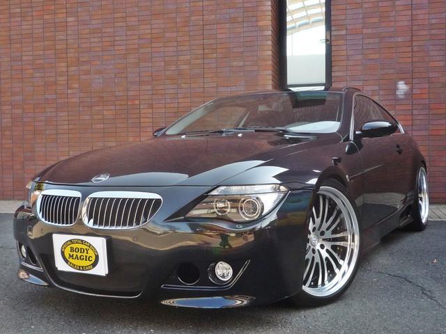 BMW 645Ci 左H ハーマン仕様 ワーク21inAW