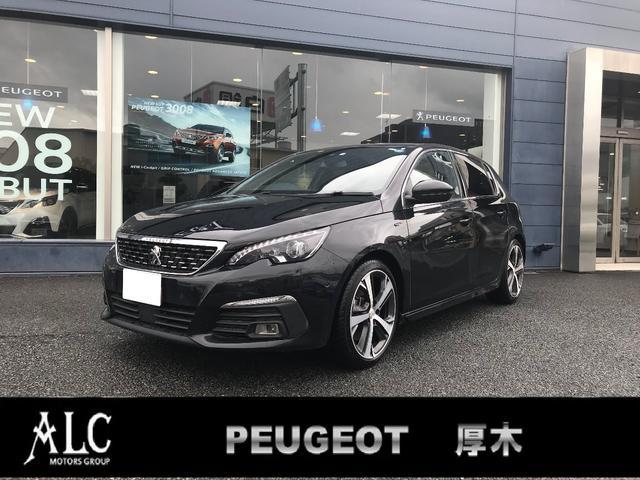 プジョー GT ブルーHDi 新車保証継承 当社DEMOカー 禁煙車