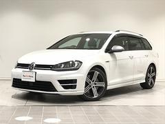 VW ゴルフRヴァリアントRヴァリアント 純正ナビ 黒革 認定中古車