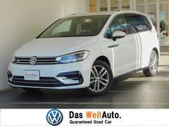 VW ゴルフトゥーランRライン 登録済み未使用車 純正フロアマット付 純正ナビ