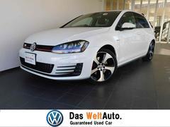 VW ゴルフGTIベースグレード 新車保証 死角検知機能 自動追従機能ACC