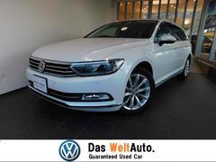VW パサートヴァリアントエレガンスライン 新車保証 LEDライト バックカメラ