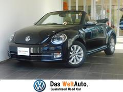 VW ザ・ビートル・カブリオレ純正SDナビ ベージュレザー シートヒーター キセノン