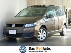 VW ゴルフトゥーランアップグレードpkg  純正SDナビ サンルーフ キセノン