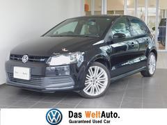 VW ポロブルーGTブルーモーション 純正ナビ 認定中古車