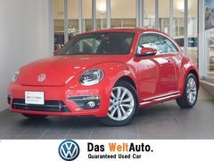 VW ザ・ビートル新車保証継承 純正SDナビ 後方死角検知機能装備