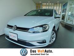 VW ゴルフ新車保証継承 純正SDナビ フルセグ LEDヘッドライト