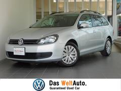 VW ゴルフヴァリアントトレンドライン 純正SDナビ ハロゲンライト ETC