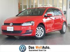 VW ゴルフコンフォートライン 認定中古車保証 純正SDナビ ETC