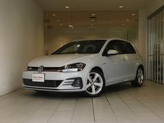 VW ゴルフGTI新車保証継承 弊社管理車 新設定色 液晶メーター 新SDナビ