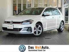 VW ゴルフGTI新車保証継承 液晶メーター 有償色 新SDナビ 弊社管理車