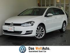 VW ゴルフヴァリアント認定中古保証 純正SDナビ バックカメラ スマートキー