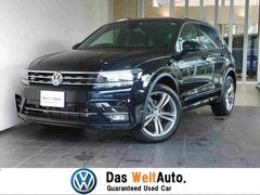 VW ティグアンRライン 新車保証 アラウンドビュー 専用インテリア