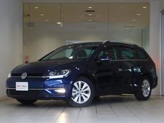 VW ゴルフヴァリアントコンフォートライン 新車保証 LED 純正SDナビ ETC