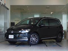 VW ゴルフトゥーラン限定300台 特別仕様 茶革 新純正ナビ LED 新車保証