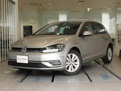VW ゴルフ新車保証 弊社管理車 新型純正SDナビ LEDヘッドライト