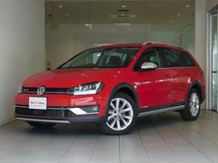 VW ゴルフオールトラック認定中古車 4WD 純正SDナビ スマートキー塔載 ETC
