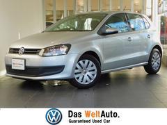 VW ポロワンオーナー 認定中古保証 社外SDナビ ワンセグ ETC