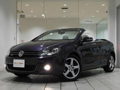 VW ゴルフカブリオレ白レザーシート 純正SDナビ フルセグ 認定中古保証 ETC
