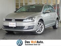 VW ゴルフハイライン 認定中古車 障害物センサー 社外ナビ