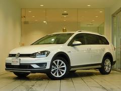 VW ゴルフオールトラック純正SDナビ バックカメラ ACC プッシュスタート
