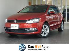 VW ポロTSIハイライン マイスター 純正ナビ Bカメラ 認定中古車