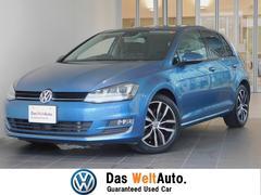 VW ゴルフハイライン 可変サスペンション 純正SDナビ バックカメラ