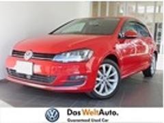 VW ゴルフハイライン 認定中古車保証 純正SDナビ キセノン ETC