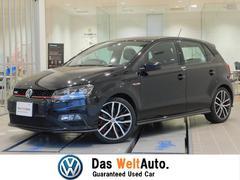 VW ポロGTI認定中古保証 6MT LEDヘッドライト 純正SDナビ