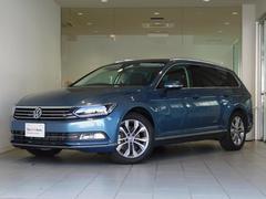 VW パサートヴァリアント認定中古車 レザー 純正SDナビ セーフティー
