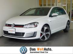 VW ゴルフGTI1オーナー 黒レザーシート DCC 認定中古保証