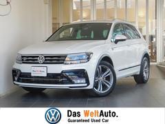 VW ティグアンRライン 1オーナ 禁煙 テクノロジーPKG 電動リアゲート