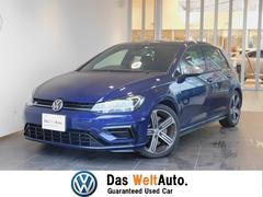 VW ゴルフRベースグレード 弊社管理車両 LEDライト 黒レザー