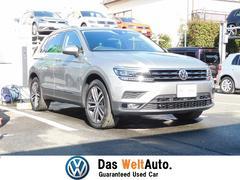 VW ティグアン4モーション ハイライン LEDヘッドライト 純正SDナビ