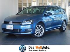 VW ゴルフヴァリアント認定中古車保証 レザーシート スマートキー シートヒーター