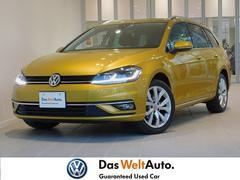 VW ゴルフヴァリアントハイライン 純正SDナビ バックカメラ LEDヘッドライト