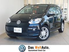 VW アップ!オンダッシュナビ シートヒーター ETC 認定中古車
