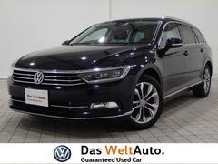 VW パサートヴァリアント認定中古車 ハイライン レザー シートヒーター LED
