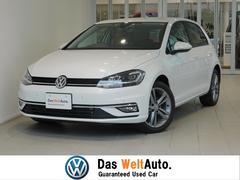 VW ゴルフ新車保証付 黒レザー 純正ナビ ACC 純正ドラレコ