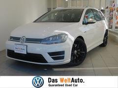 VW ゴルフRヴァリアントローンチエディション ツートンレザー 純正19AW キセノン