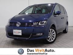 VW シャラン認定中古車 電動ドア 革レザー 純正ナビ セーフティー